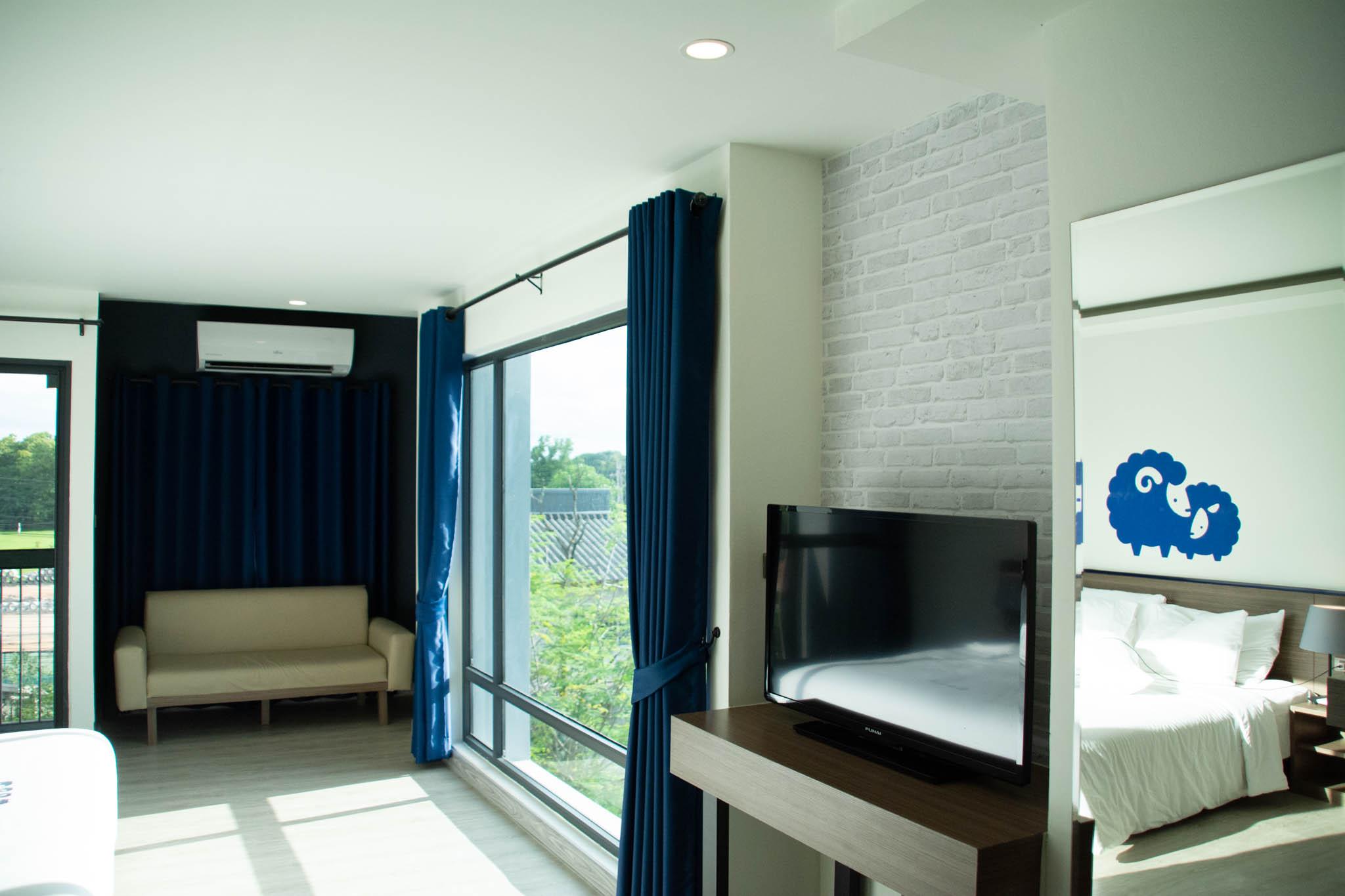 เที่ยวเชียงใหม่ พักโรงแรม โคโคเทล เชียงใหม่ Kokotel Chiang Mai Nimman ห้องพักวิวดี เห็นดอยสุเทพ